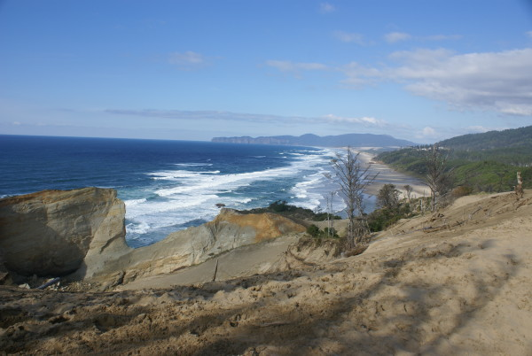 Cape Kiwanda View looking at Cape Lookout