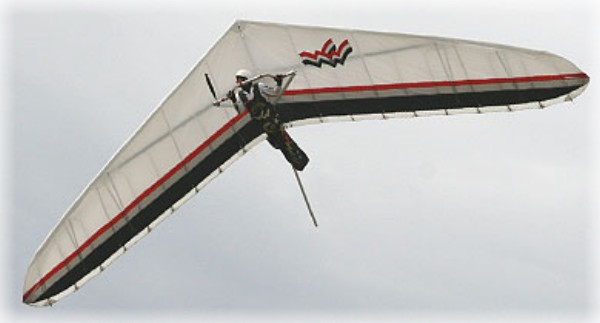 Hang Gliding in Pacific City - high performance