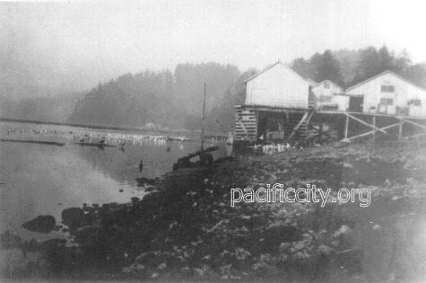 The Cannery late 1800's Nestucca Bay Tillamook Pacific City Oregon
