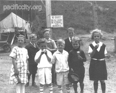 Camper Kids  Pacific city history