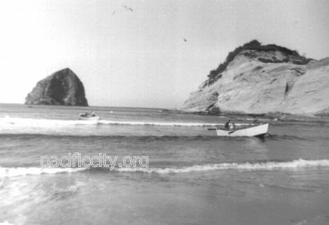 Dories and their Crews History Dory Pacific City
