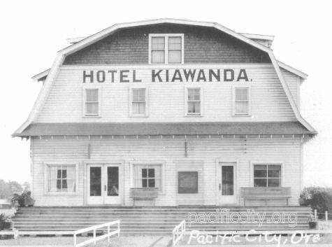 Hotel Kiawanda Pacific city, Ore